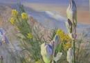 Les iris (détail 2)