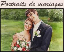Portraits de mariages