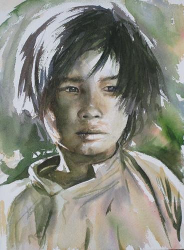 portrait-enfant-aquarelle