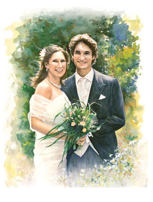 portrait-mariage-aquarelle