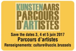 parcours d'artistes d'Uccle 2017